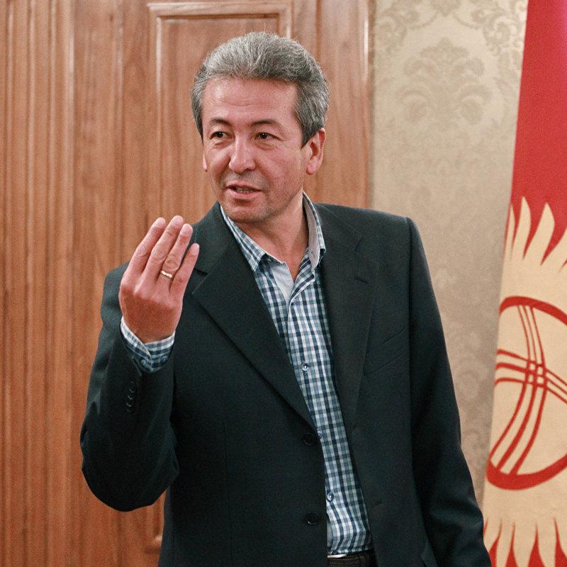 Сопредседатель партии Бутун Кыргызстан Эмгек Адахан Мадумаров.