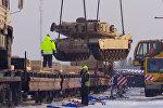 Американская военная техника в Эстонии