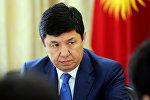 Архивное фото экс-премьер-министра Кыргызской Республики Темира Сариева