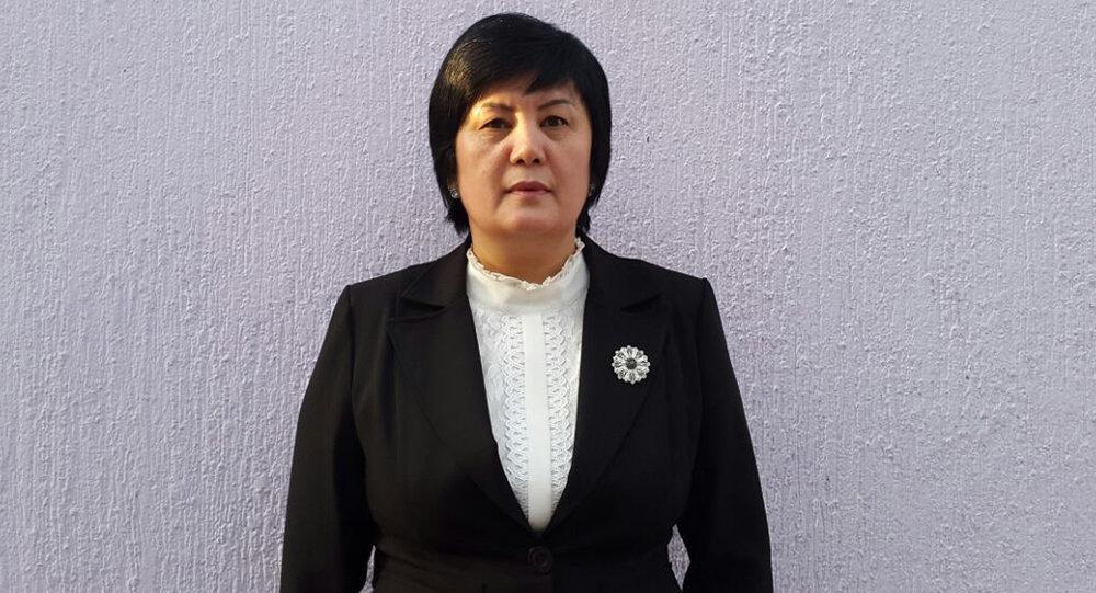 Заведующая отделом кадровой работы и медицинского образования министерства здравоохранения Нурида Жусупбекова