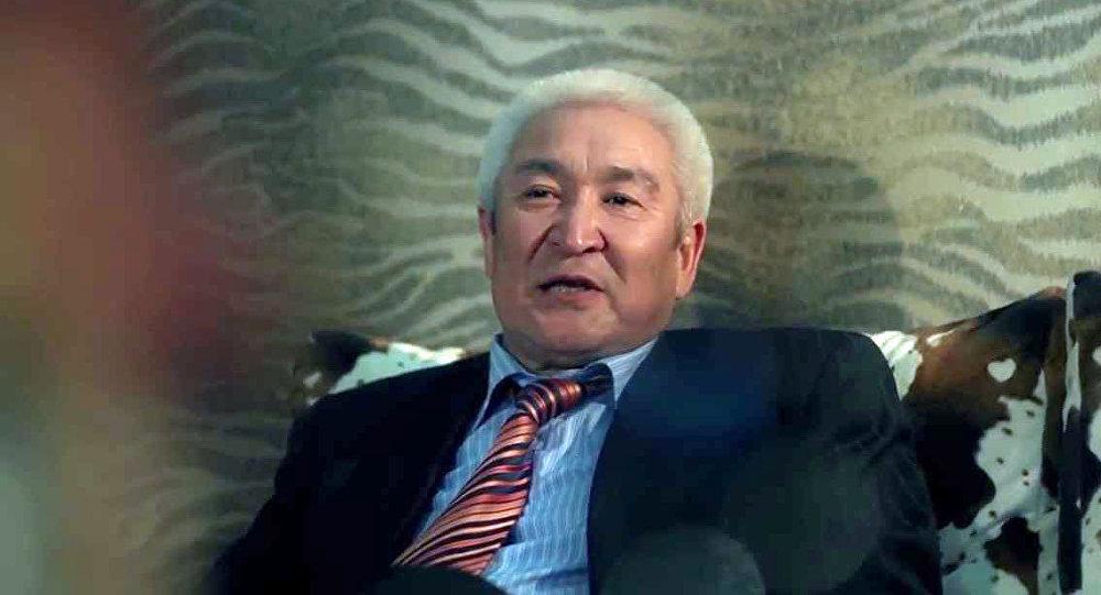 Директор Кыргызского драматического театра Темирлан Сманбеков