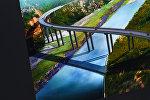 Эскиз эстакадного моста на альтернативной дороге север — юг