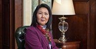Бывший вице-премьер-министр Эльмира Ибраимова. Архивное фото