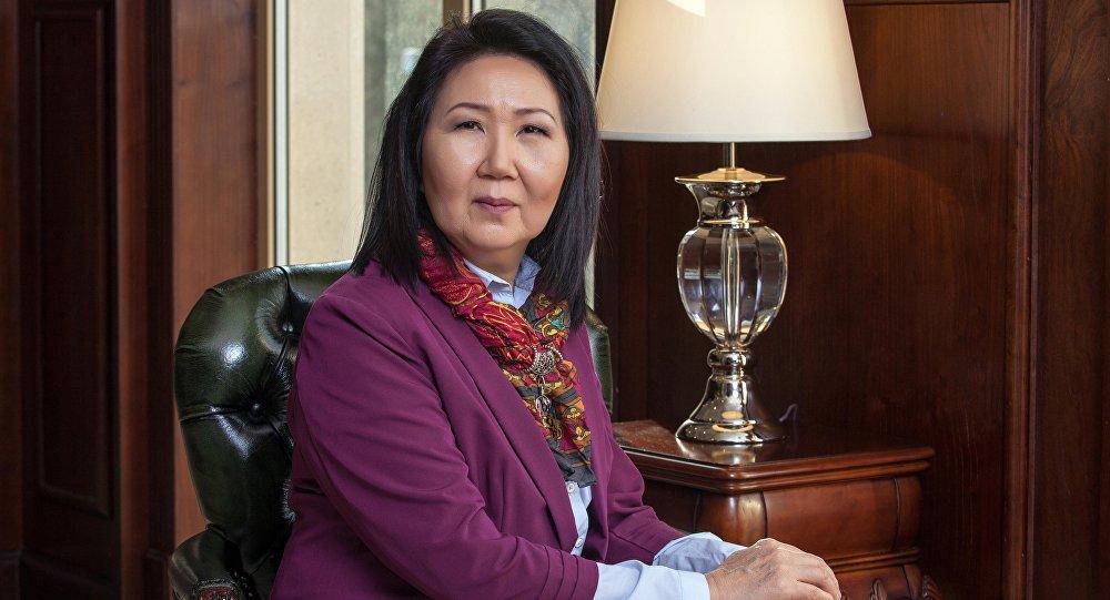 Постоянный член аналитического клуба Sputnik Кыргызстан Эльмира Ибраимова. Архивное фото