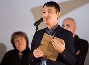 Режиссер кыргызской киноленты Завещание отца Дастан Жапар уулу. Архивное фото