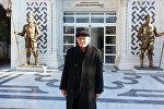 Экономика илимдеринин доктору Айылчы Сарыбаевдин архивдик сүрөтү