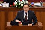 КСДП фракциясынын депутаты Осмонбек Артыкбаевдин архивдик сүрөтү