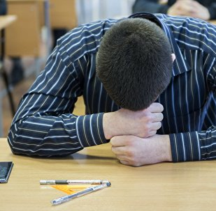 Студент. Архивное фото
