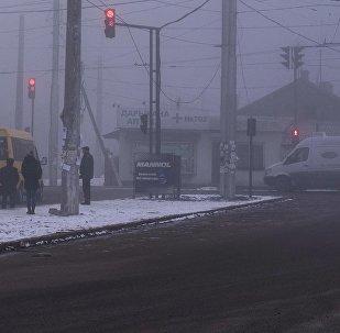 Туман Бишкекте