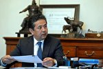 Бывший первый вице-премьер Тайырбек Сарпашев. Архивное фото