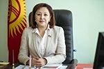 Экс-депутат Элмира Жумалиеванын архивдик сүрөт