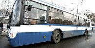 Новый низкопольный троллейбус. Архивное фото