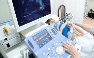 Ультразвуковое исследование беременной женщины в клинике