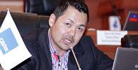 Жогорку Кеңештин V чакырылышынын депутаты Данияр Тербишалиевдин архивдик сүрөтү