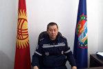 Начальник Центра управления кризисными ситуациями МЧС Мухаммед Сваров