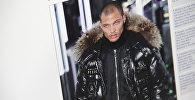 33-летний житель калифорнийского города Стоктона Джереми Микс на подиуме на Неделе моды в Нью-Йорке. Фото с сайта Daily Mail