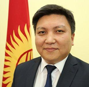 Генеральный консул Кыргызстана в Объединенных Арабских Эмиратах Айбек Маматбеков. Архивное фото