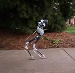 Шагающий робот из Орегона