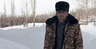 Чаткал районунун акиминин биринчи орун басары Жуман Макетаев