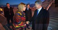 Президент Атамбаевди Бельгия Королдугу жылуу тосуп алды