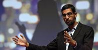 Google компаниясынын башкы директору Сундар Пичаинин архивдик сүрөтү