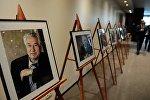 Церемония передачи Кыргызстану архивных материалов по творчеству Ч.Айтматова