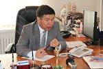 Ата-Мекен фракциясынын депутаты Алмамбет Шыкмаматовдун архивдик сүрөтү