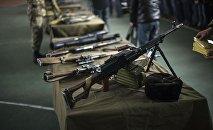 Оружие погранслужбы. Архивное фото