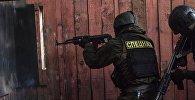 Сотрудники спецназа Кыргызстана. Архивное фото