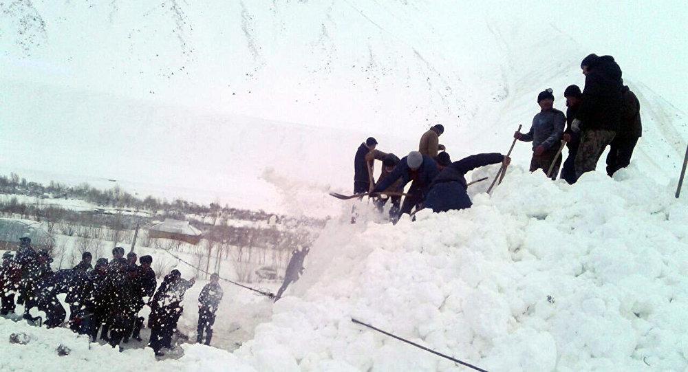В итоге схода снежной лавины наюге Киргизии погибли двое детей