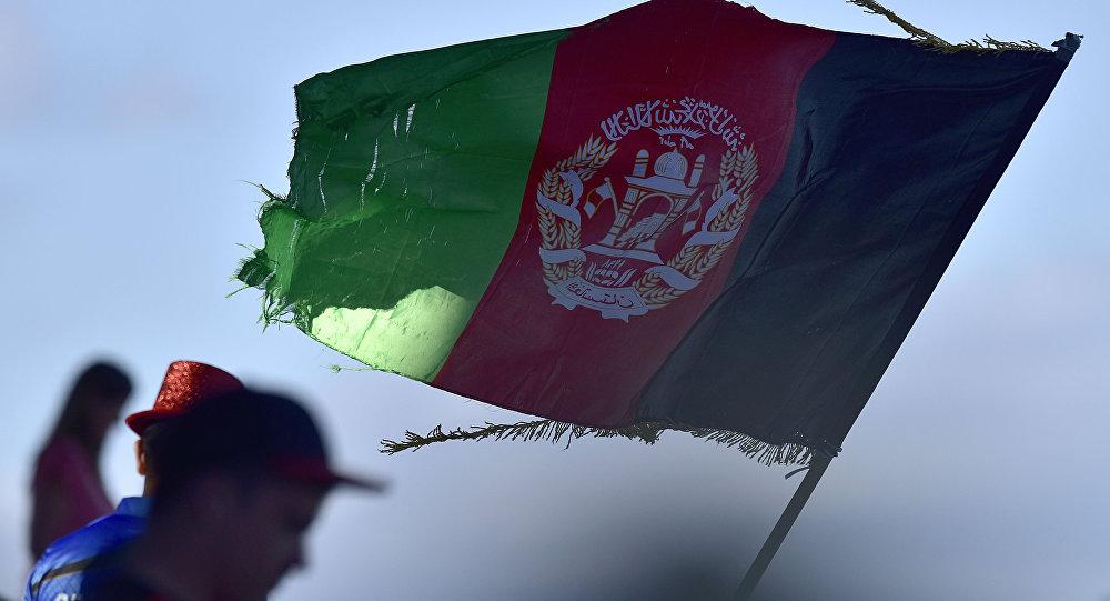 Афганистандын мамлекеттик желеги. Архив