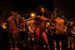 Бразилиянын Рио-де-Жанейро шаарында өтүүчү карнавалга даярдык