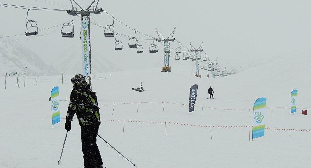 Соревнования, посвящённые юбилею ТРК МИР на горнолыжной базе ЗИЛ