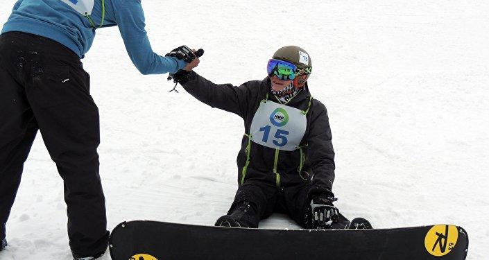 Юбилейный год команда СМИ начала с соревнований по горнолыжному спорту.