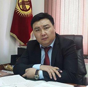 Бишкек мэриясынын жерди колдонуу жана курулуш башкармалыгынын директору Талант Иманкул уулу