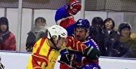 ышкы Азия оюндарында Кыргызстан менен Кувейттин хоккейчилери арасында мушташ чыгып кетти