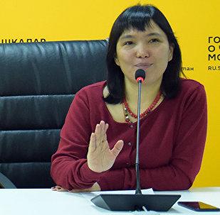 Бишкек мэринин кеңешчиси Гуля Алмамбетова