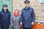 Военнослужащие авиабазы ОДКБ Кант оказали помощь семье воина-афганца Виктора Марковского