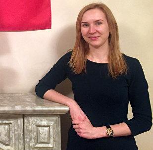 Пресс-секретарь Посольства РФ в КР Дарья Пахомова