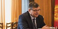 Вице-премьер Олег Панкратов. Архив