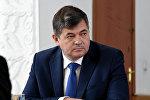 Архивное фото вице-премьера КР Олега Панкратова