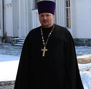 Секретарь Бишкекской епархии отец Алексий