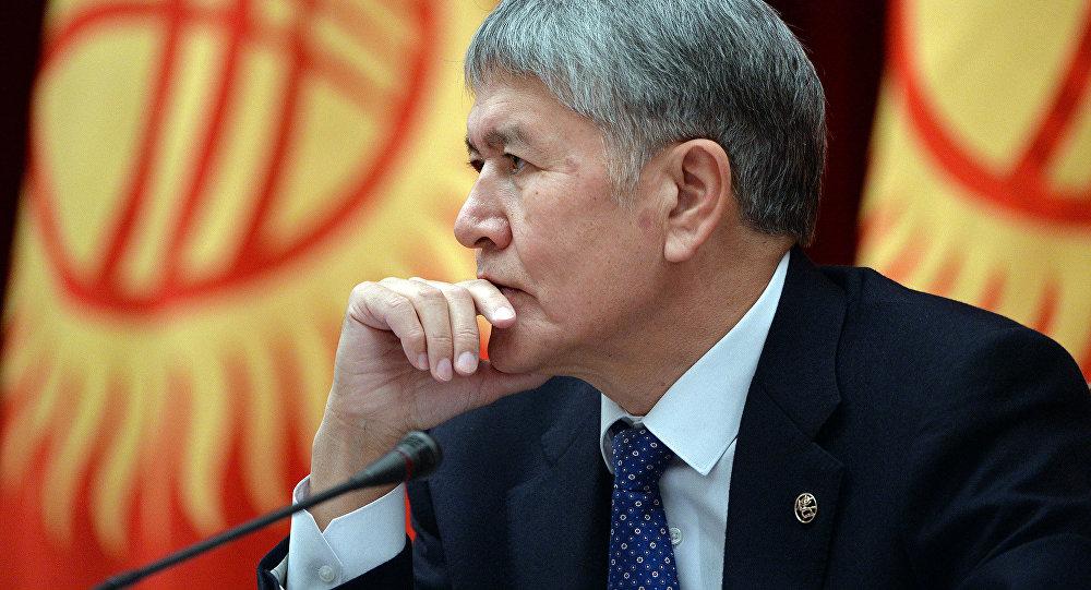Мурдагы президент Алмазбек Атамбаевдин архивдик сүрөтү