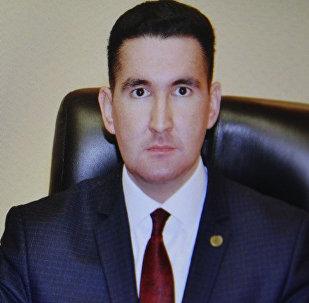 Официальный представитель комитета по чрезвычайным ситуациям МВД РК Руслан Иманкулов, фото со страницы Facebook Иманкулова