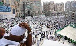 Ажылыктагы мусулмандар. Архивдик сүрөт