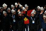Спортсмены из Кыргызстана в калпаках. Архивное фото