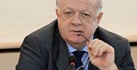 Архивное фото председателя комиссии Государственной думы РФ по депутатской этике Виктора Заварзина