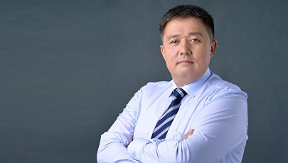Архивное фото депутата от фракции Кыргызстан Алмаза Эргешова