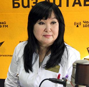 Офтальмолог глазной микрохирургии национального госпиталя, кандидат медицинских наук Бактыгуль Мамытова