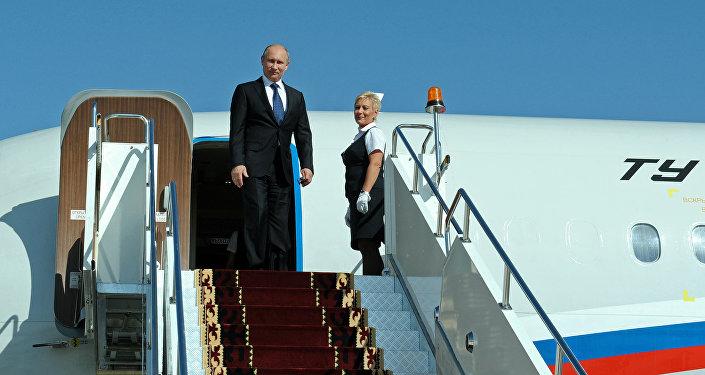 Россия Федерациясынын президенти Владимир Путин. Архивдик сүрөт